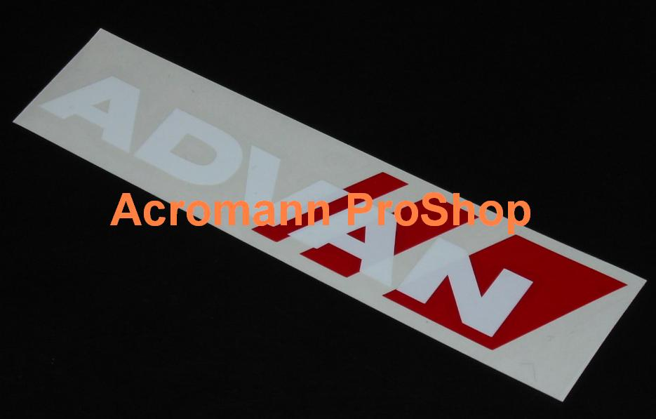 ADVAN 6inch Decal (Style#2) x 2 pcs