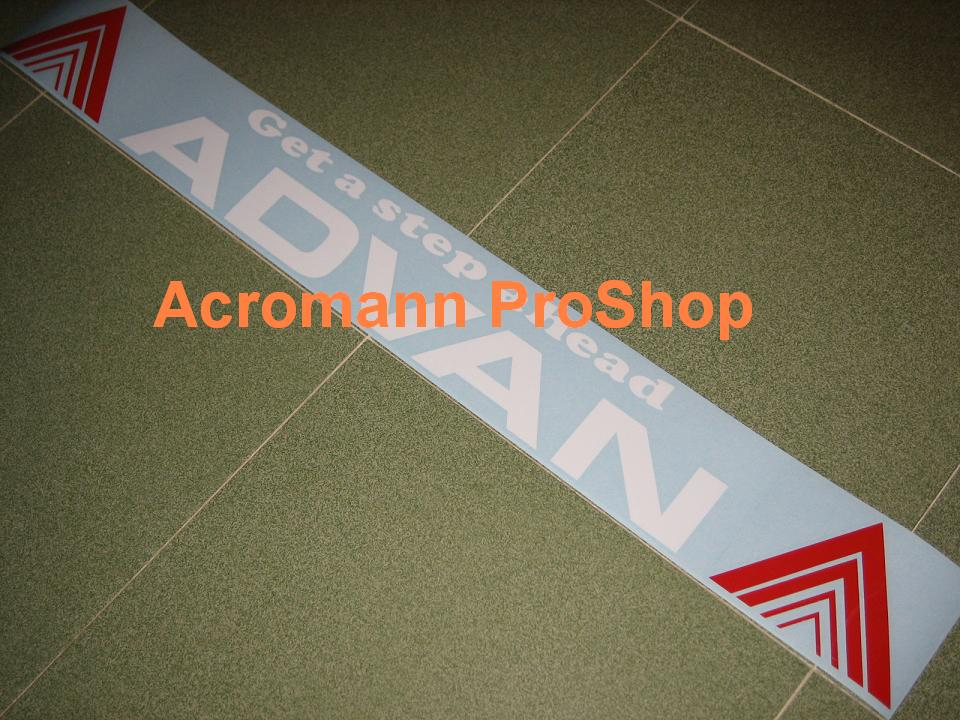 ADVAN Windshield Decal (Style#6)