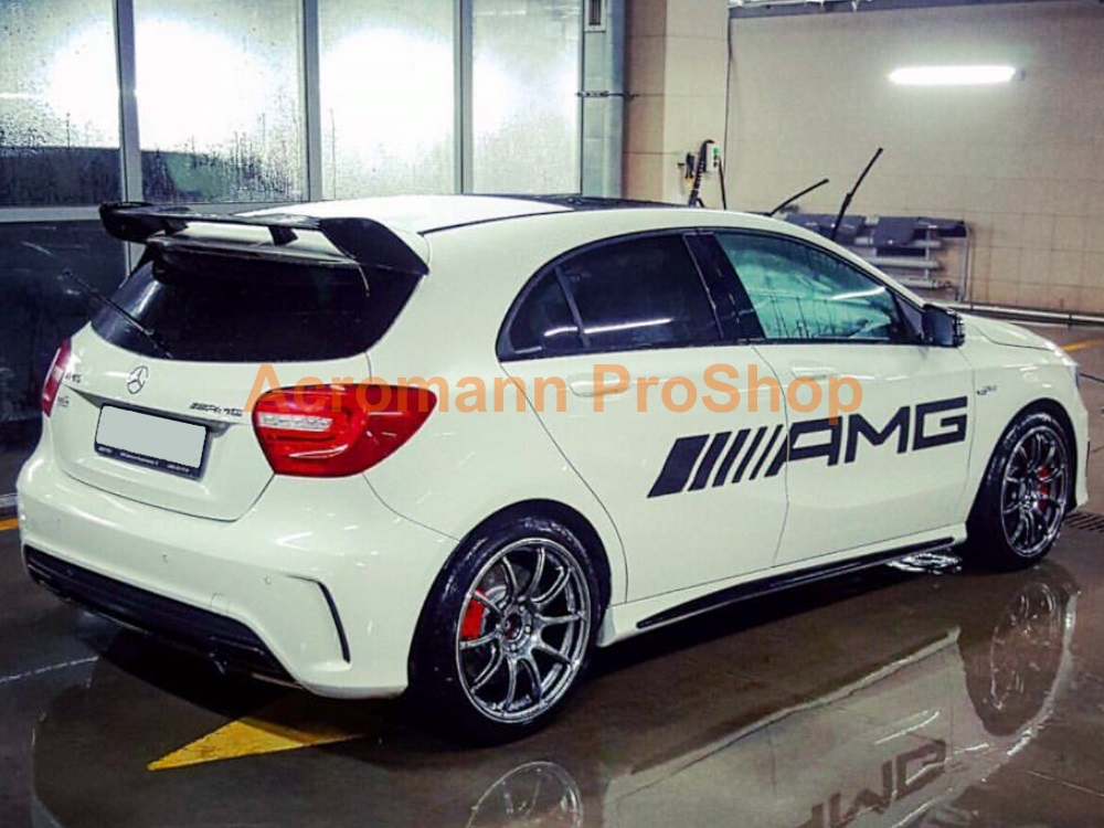 AMG Large Side Door Decal (Style#1) x 1 pair (LHS & RHS)