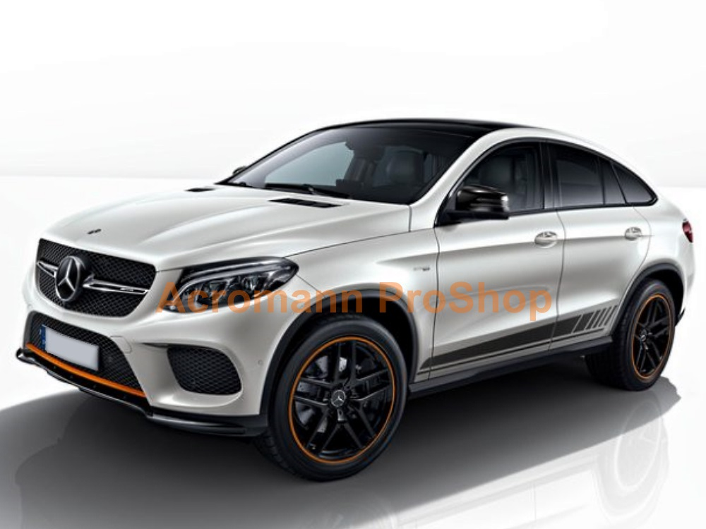 AMG W166 ML C292 GLE 63 43 Class Side Stripes Door Decal Sticker