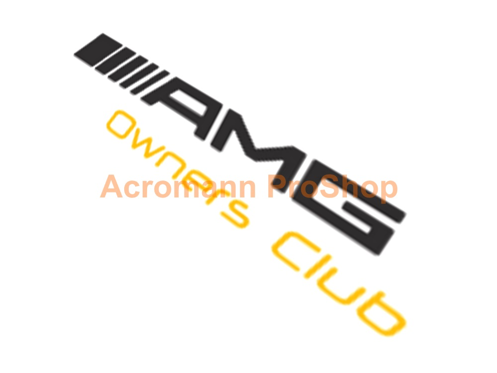 AMG Owners Club 6inch Decal x 2 pcs