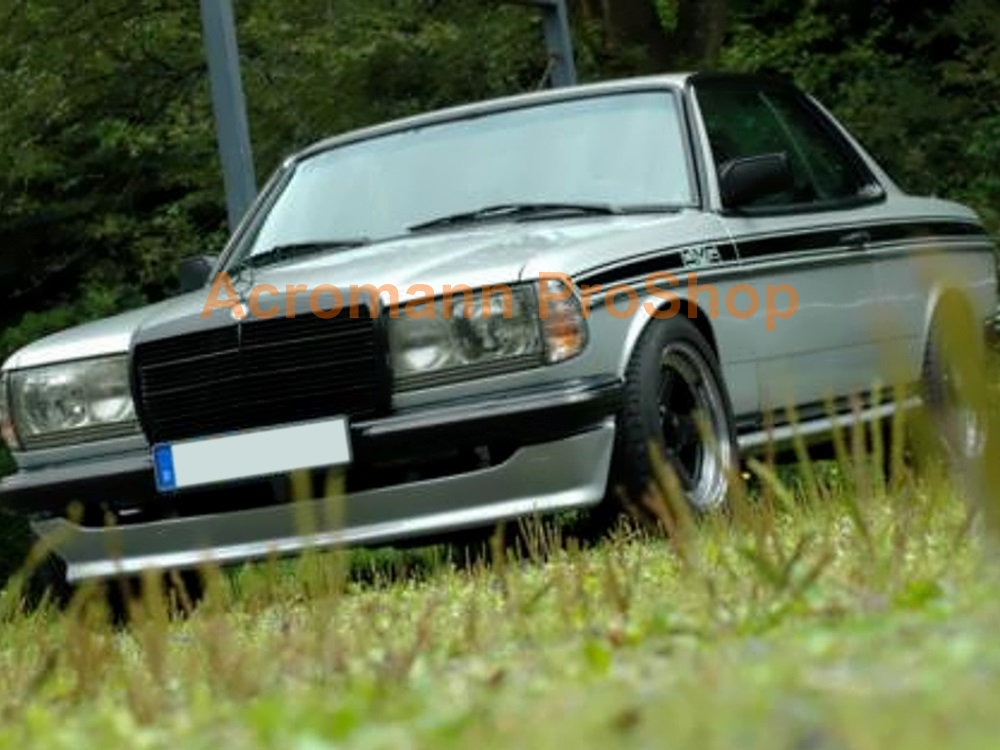 AMG Classic W123 Coupe Sports Side Stripes Door Decals Sticker