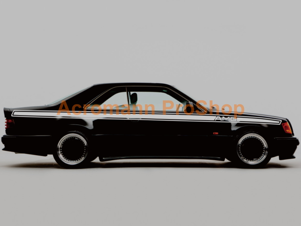 AMG W124 C124 Coupe E36 300 CE Side Stripes Door Decals Sticker