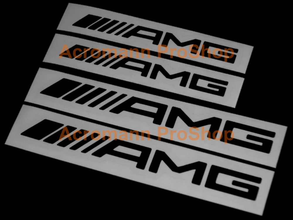 AMG 4inch Brake Caliper Decal (Style#2) x 2 pcs