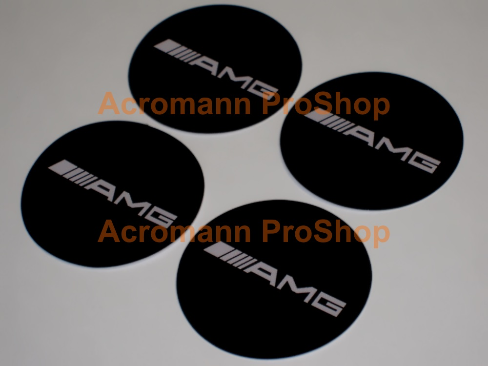 AMG 2.2inch Wheel Cap Decal (Style#1) x 4 pcs