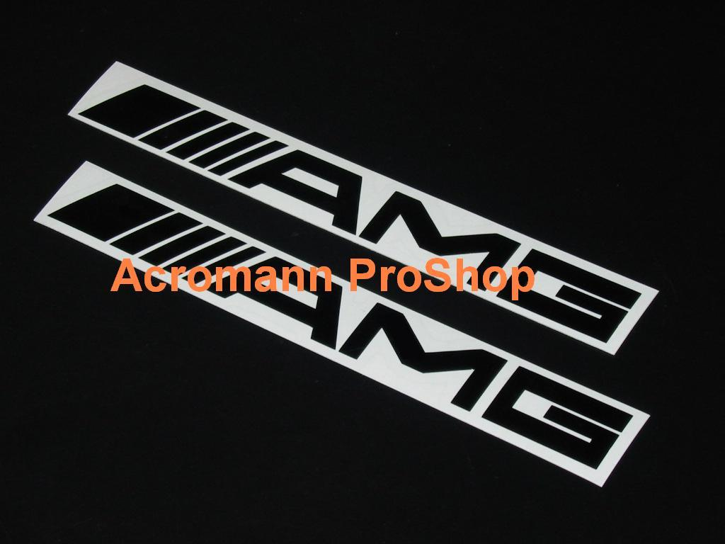 AMG 4inch Brake Caliper Decal (Style#1) x 2 pcs