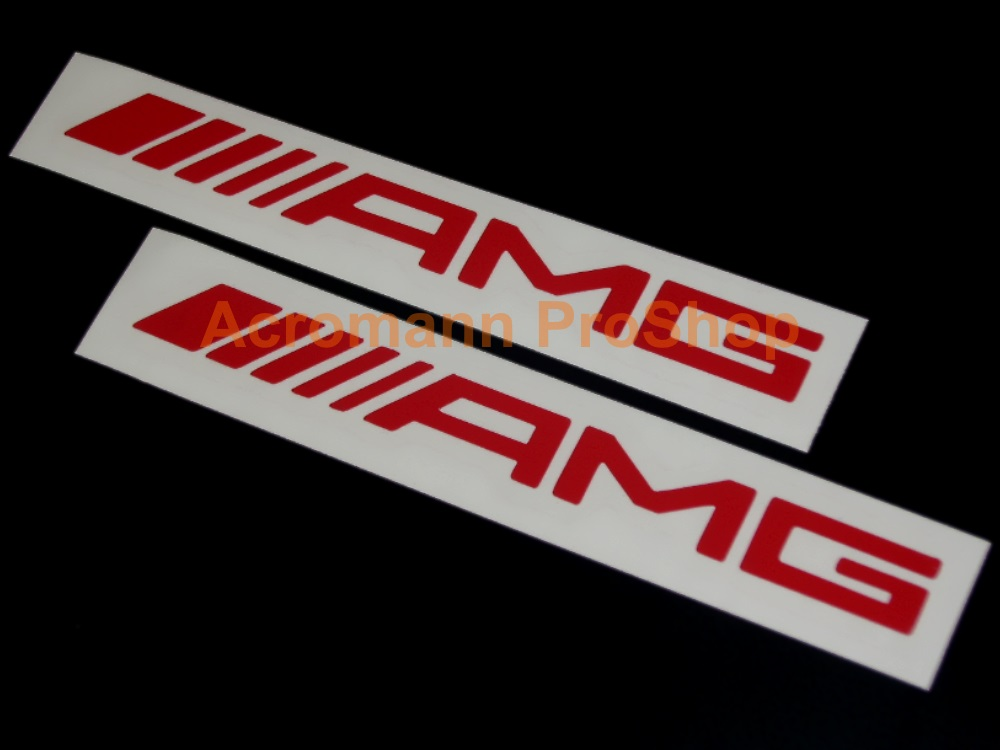 AMG 6inch Decal (Style#2) x 2 pcs