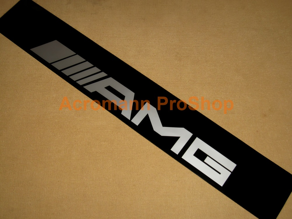 AMG Windshield Decal (Style#2)