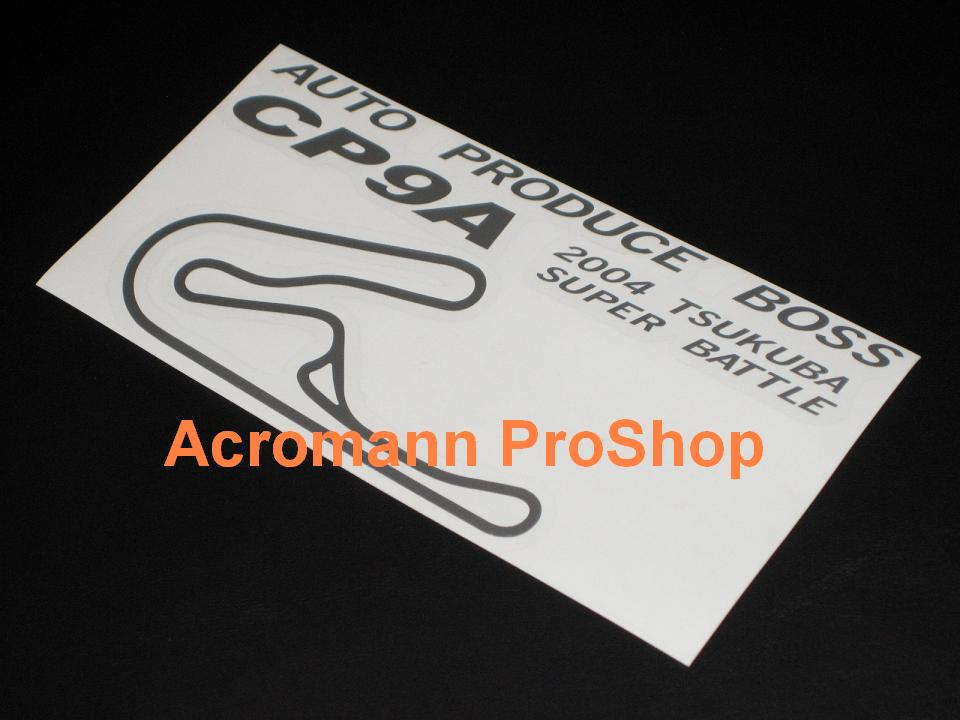 Auto Produce Boss (EVO) CP9A 6inch Decal x 2 pcs
