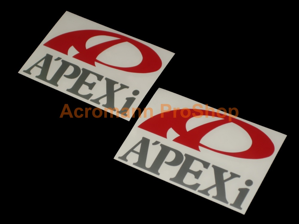 A'PEXi Apexi 4inch Decal (Style#4) x 2 pcs