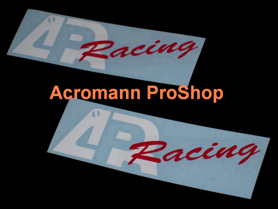 APR Racing 6inch Decal x 2 pcs
