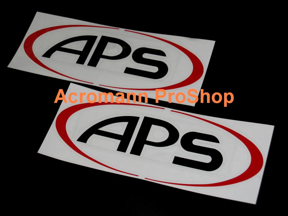 APS 6inch Decal x 2 pcs