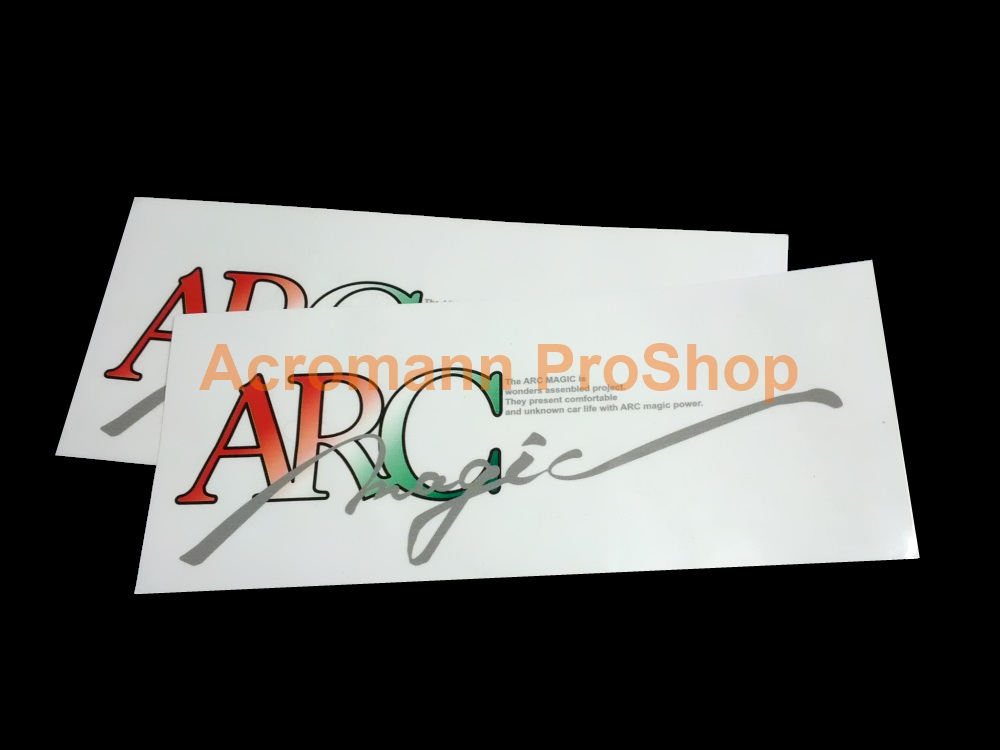 ARC Magic 6inch Printed Decal (Style#4) x 1 pc