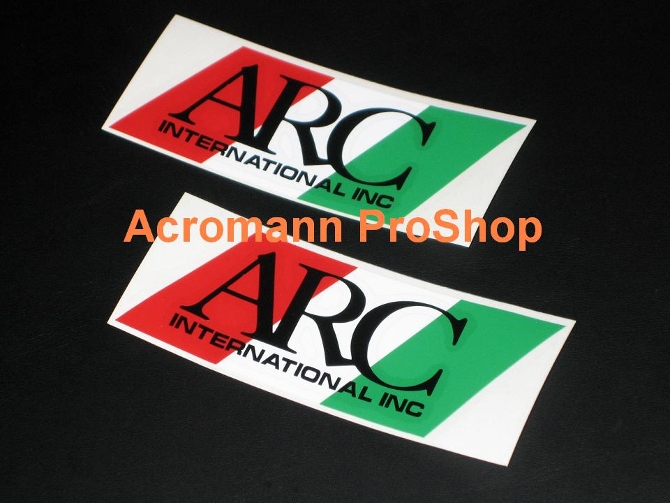 ARC 4inch Decal (Style#3) x 2 pcs