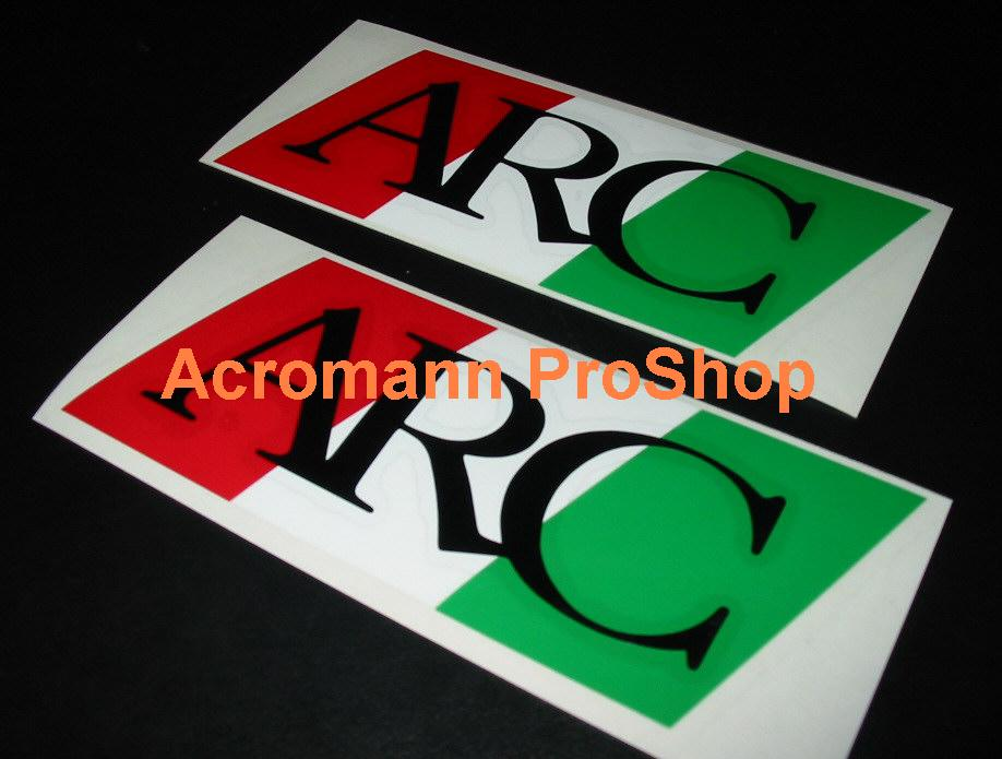 ARC 4inch Decal (Style#4) x 2 pcs