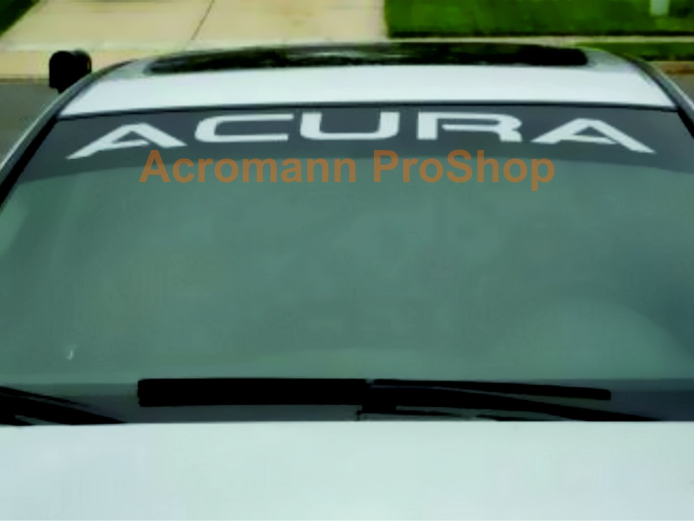 A cura Windshield Decal (Style#2)