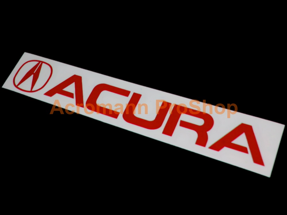 A cura Windshield Decal (Style#1)