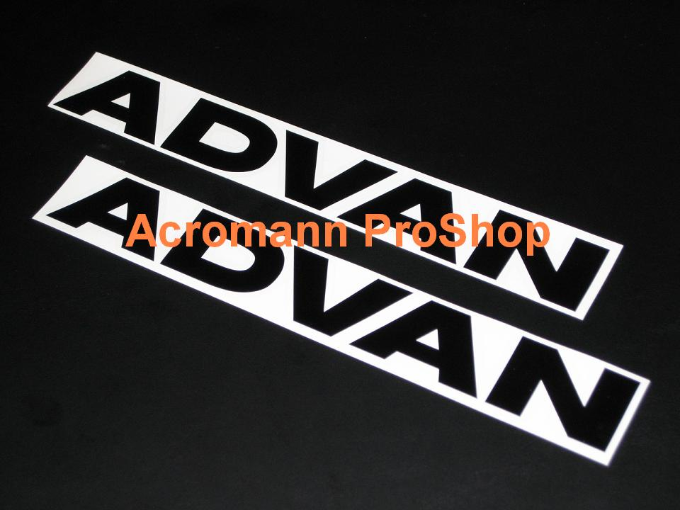 ADVAN 6inch Decal (Style#1) x 2 pcs