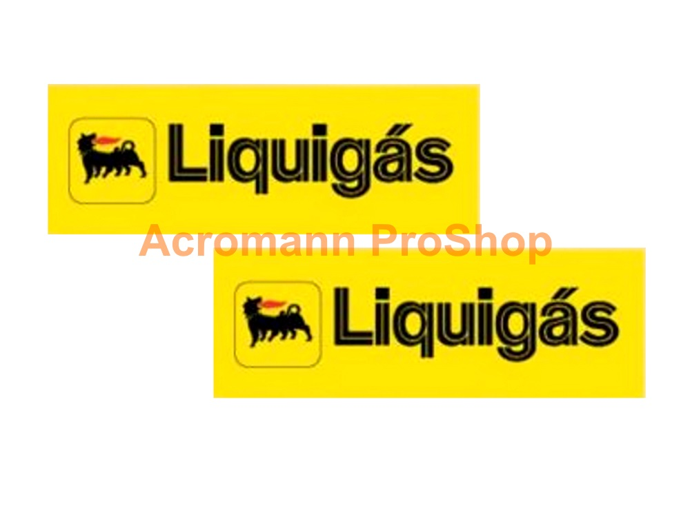 Agip Liquigas 6inch Decal (Style#1) x 2 pcs
