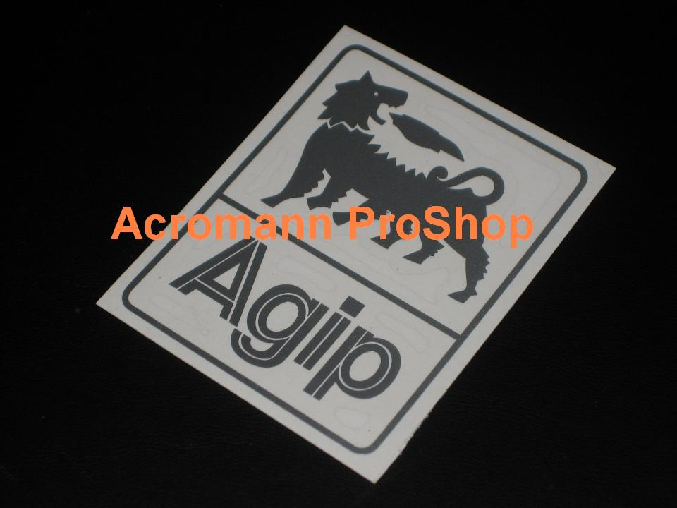 Agip 2inch Decal (Style#4) x 2 pcs