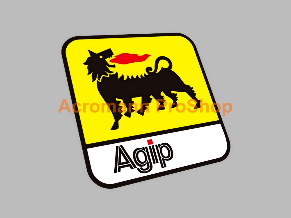 Agip 3inch Decal (Style#6) x 2 pcs