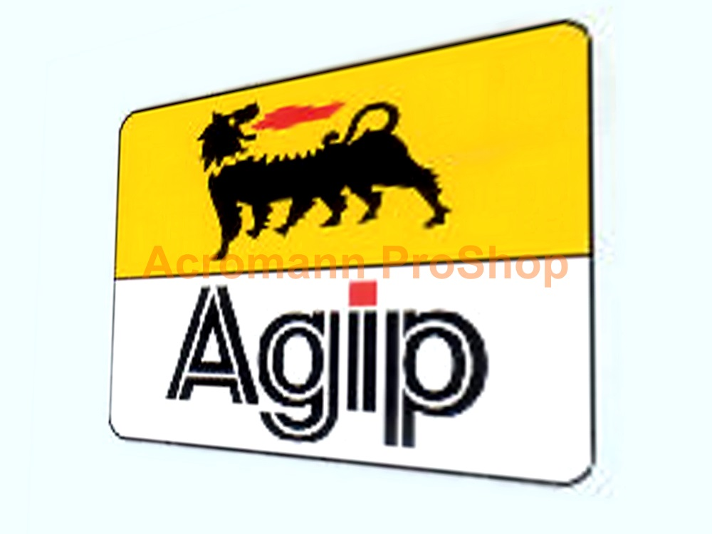 Agip 6inch Decal (Style#10) x 2 pcs
