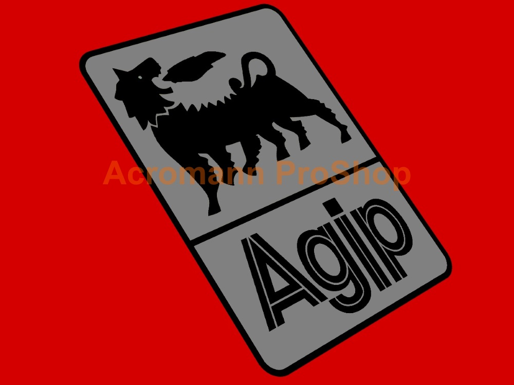 Agip 2inch Decal (Style#11) x 2 pcs