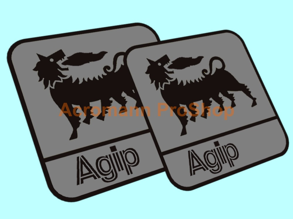 Agip 3inch Decal (Style#13) x 2 pcs