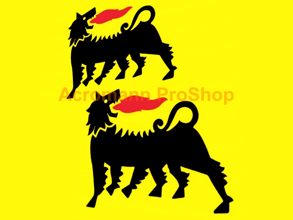Agip 6inch Decal (Style#5) x 2 pcs