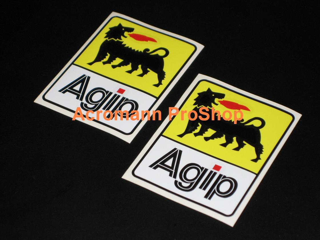 Agip 2inch Decal (Style#1) x 2 pcs
