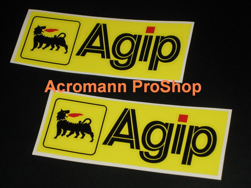 Agip 6inch Decal (Style#3) x 2 pcs