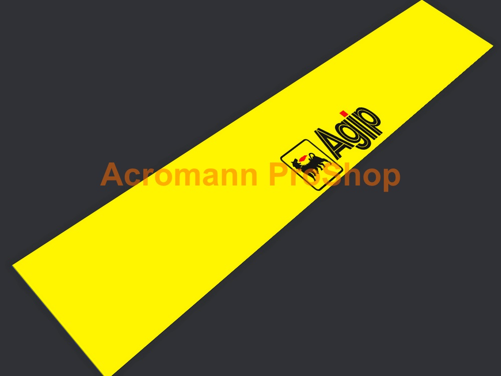 Agip Windshield Decal (Style#1)