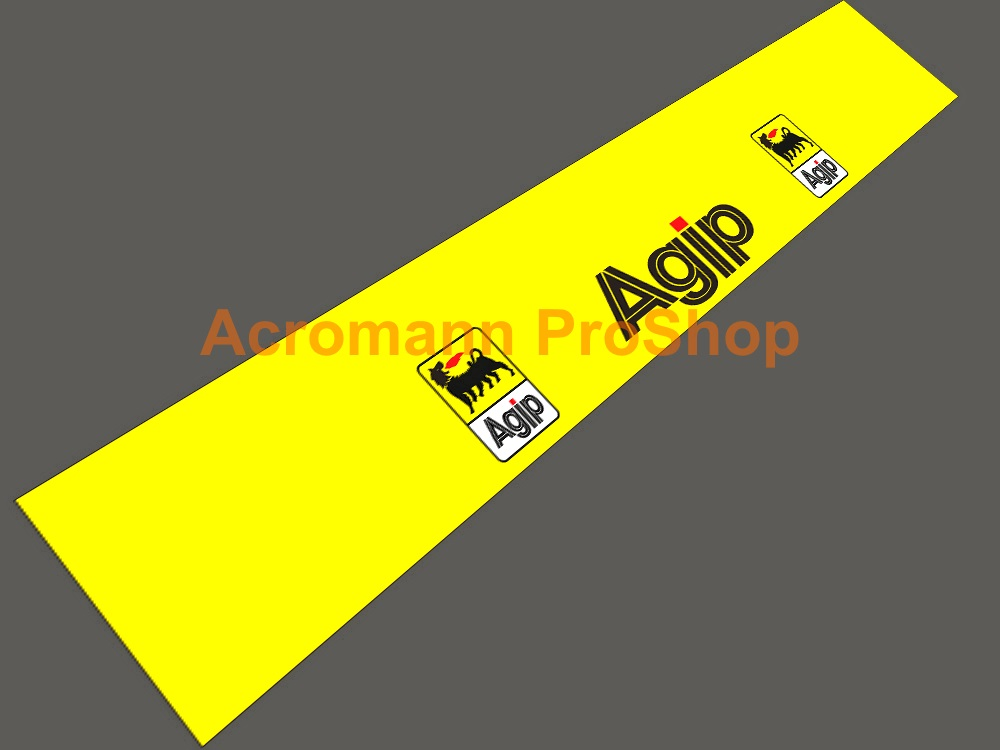 Agip Windshield Decal (Style#2)