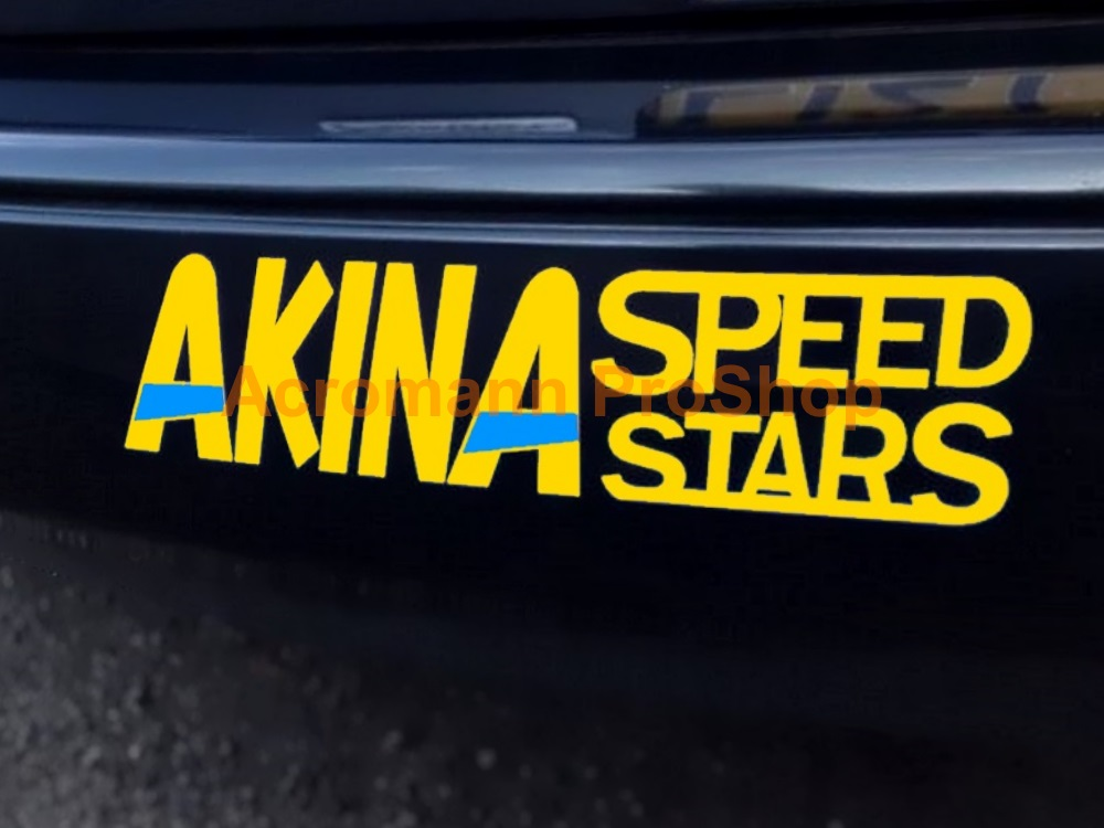 Initial D AKINA Speed Stars 6inch Decal (Style#5) x 2 pcs