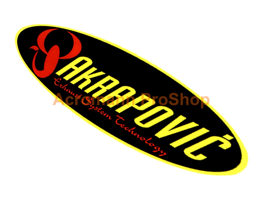 Akrapovic 6inch Decal (Style#8) x 2 pcs