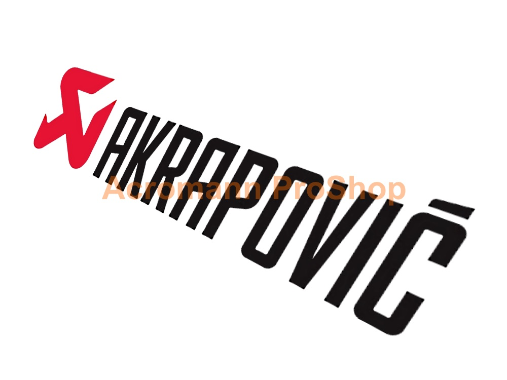Akrapovic 6inch Decal (Style#1) x 2 pcs