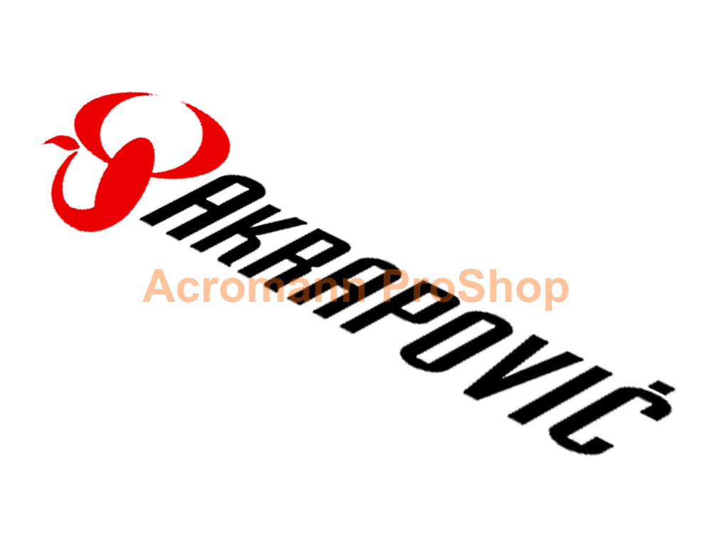 Akrapovic 6inch Decal (Style#7) x 2 pcs