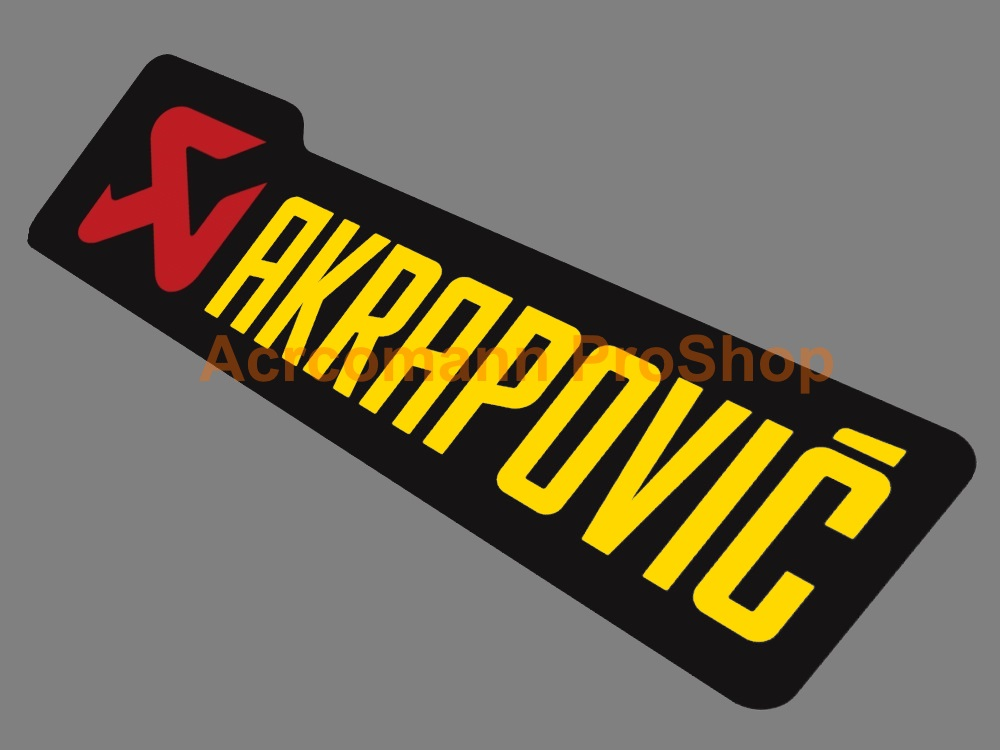 Akrapovic 6inch Decal (Style#3) x 2 pcs
