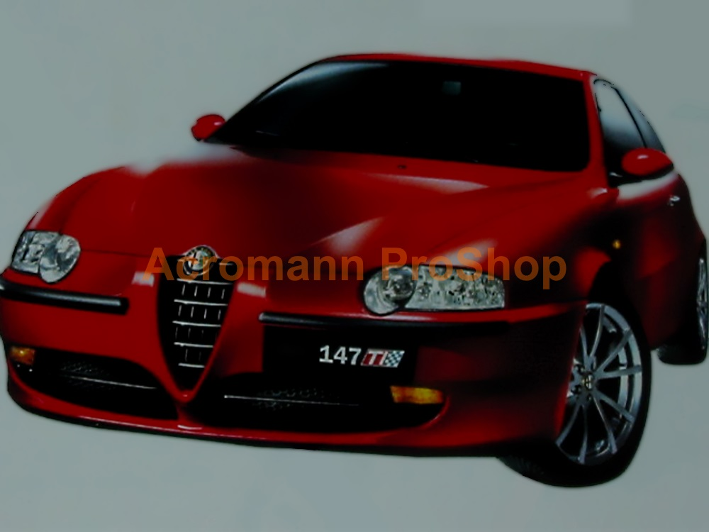 Alfa Romeo 147 TI 6inch Decal x 2 pcs