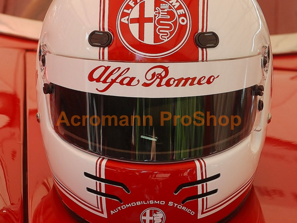 Alfa Romeo Helmet Visor Banner Sunstrip Decal Sticker#1 Straight