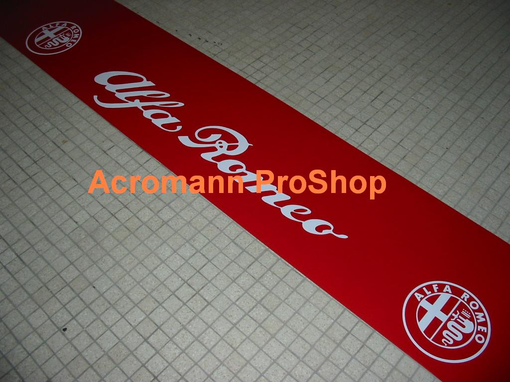 Alfa Romeo Windshield Decal (Style#1)