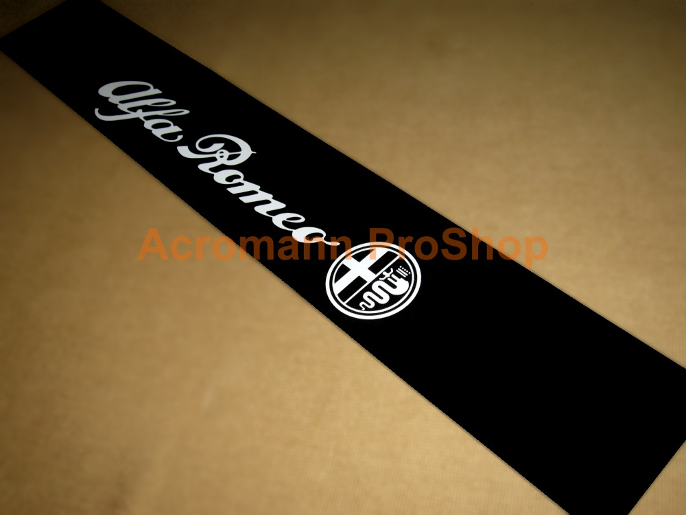 Alfa Romeo Windshield Decal (Style#9)