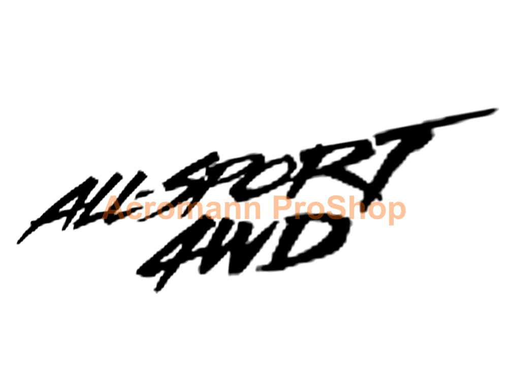 ALL-SPORT 4WD 6inch Decal (Style#1) x 2 pcs