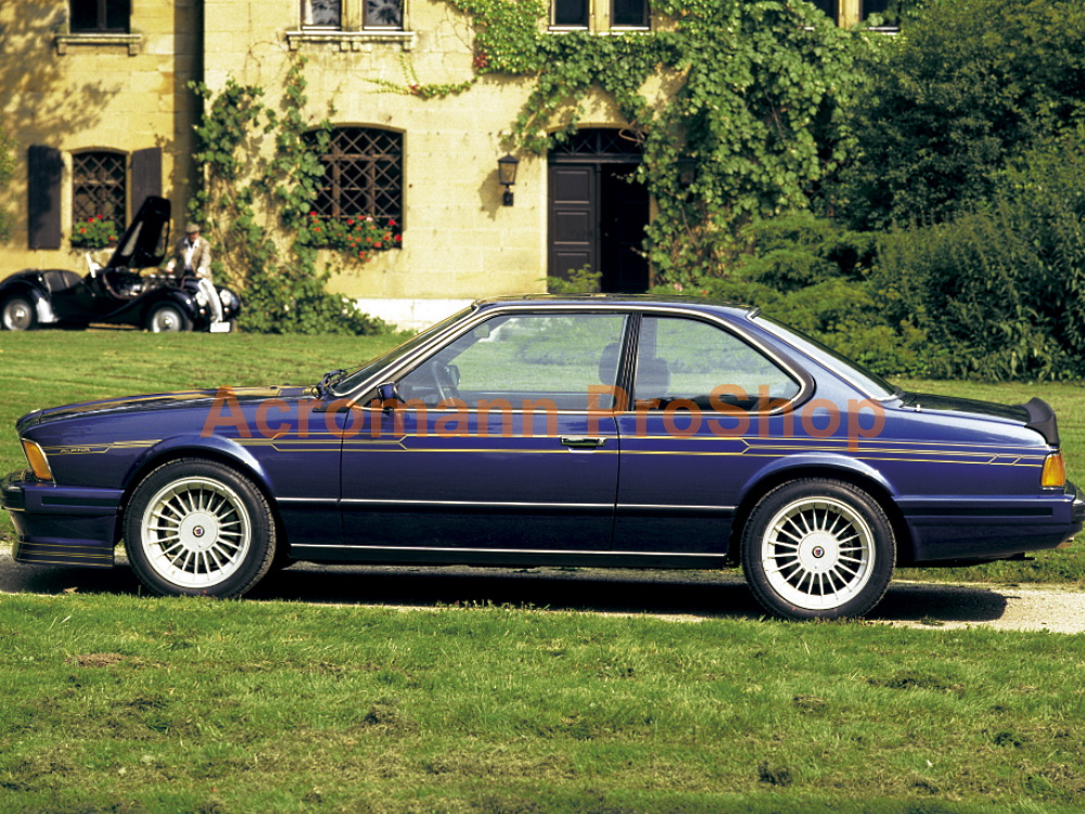 ALPINA BMW E24 B7S B9 B10 Side Pinstripes Decals Sticker Kit #1