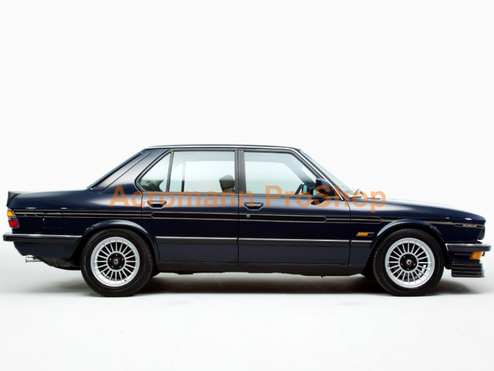 ALPINA BMW E28 Side Stripe Decal (Style#1) x 1 pair