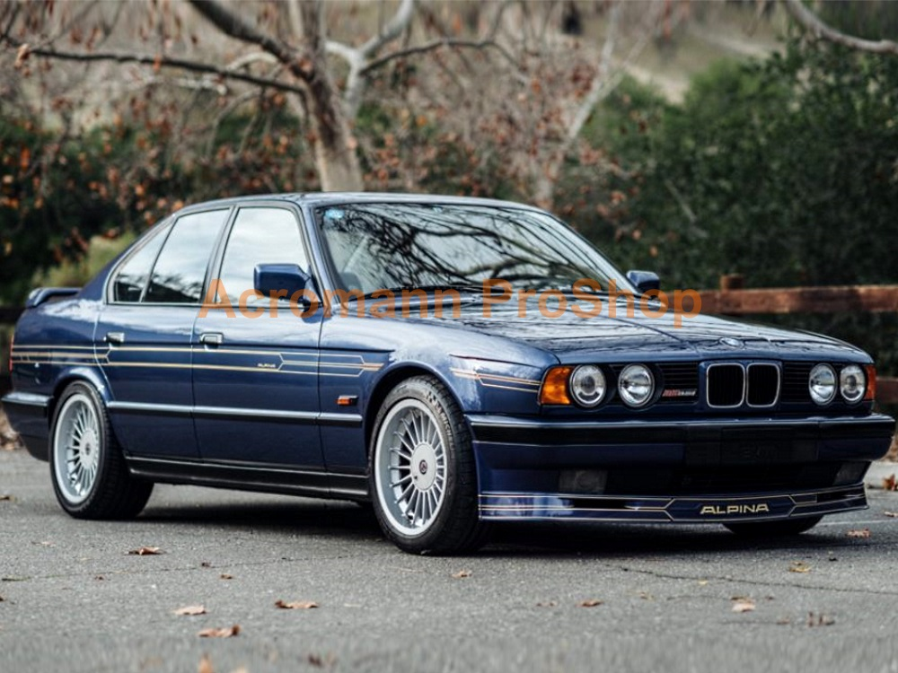 ALPINA BMW E34 Side Stripe Decal (Style#1) x 1 pair