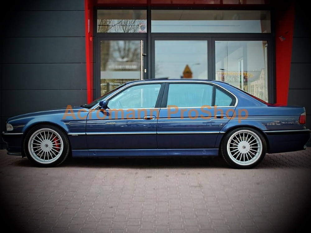ALPINA BMW E38 B12 750i 750Li Side Pinstripes Decals Sticker Kit