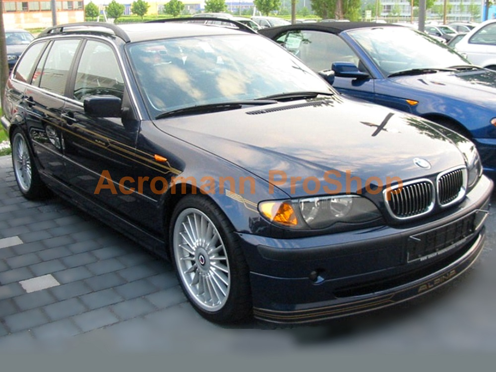 ALPINA BMW E46 Side Stripe Decal (Style#3) x 1 pair