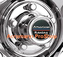 American Racing 2.2inch Wheel Cap Decal (Style#2) x 4 pcs