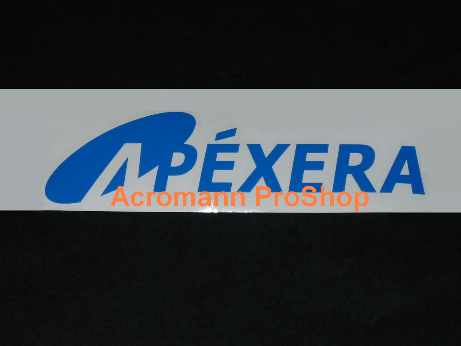 APEXERA (Apexi) Windshield Decal